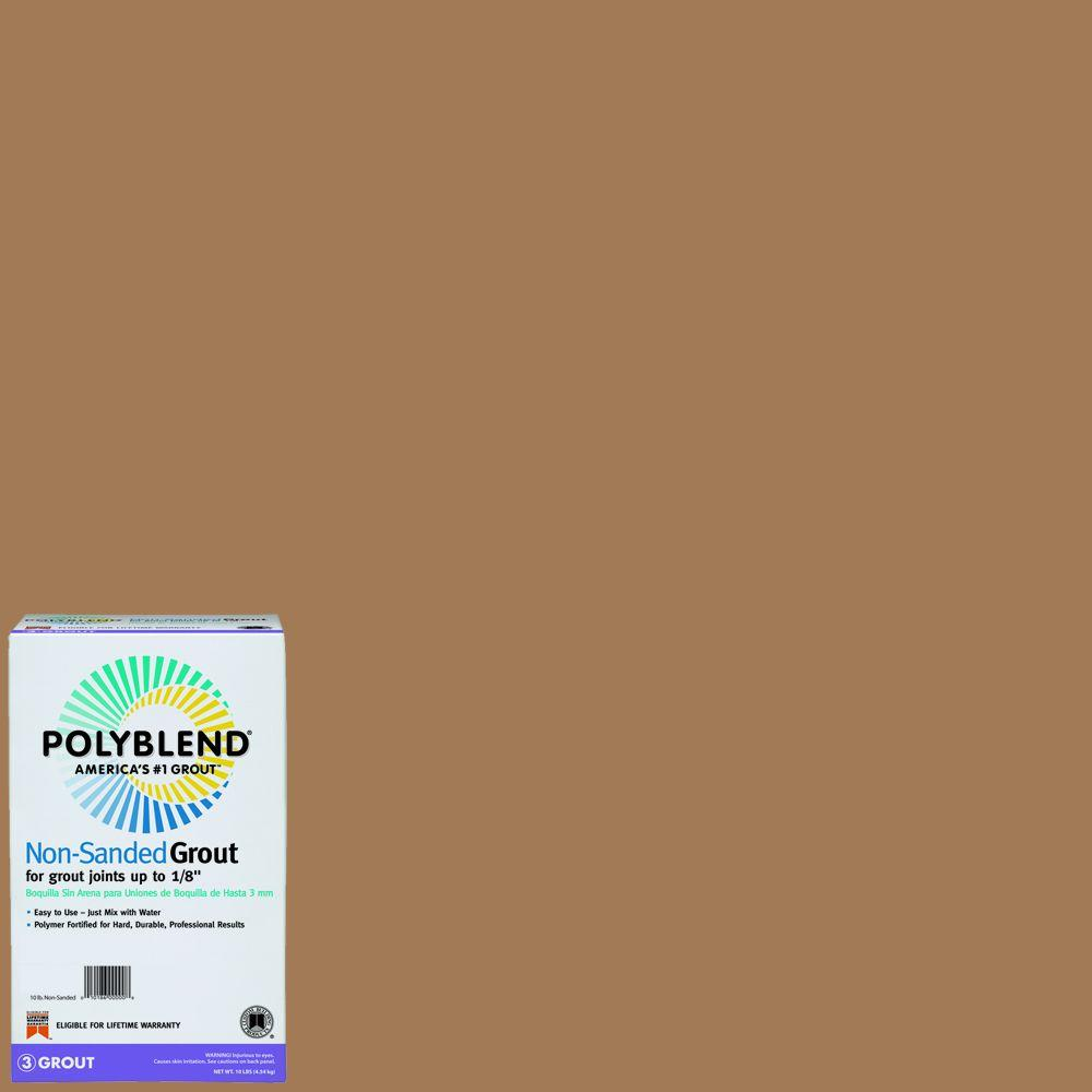 Custom Building Products Polyblend #35 Chaparral 10 lb. Polyblend Non-Sanded Grout
