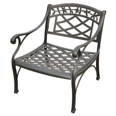 Sedona Cast Aluminum Outdoor Lounge Chair