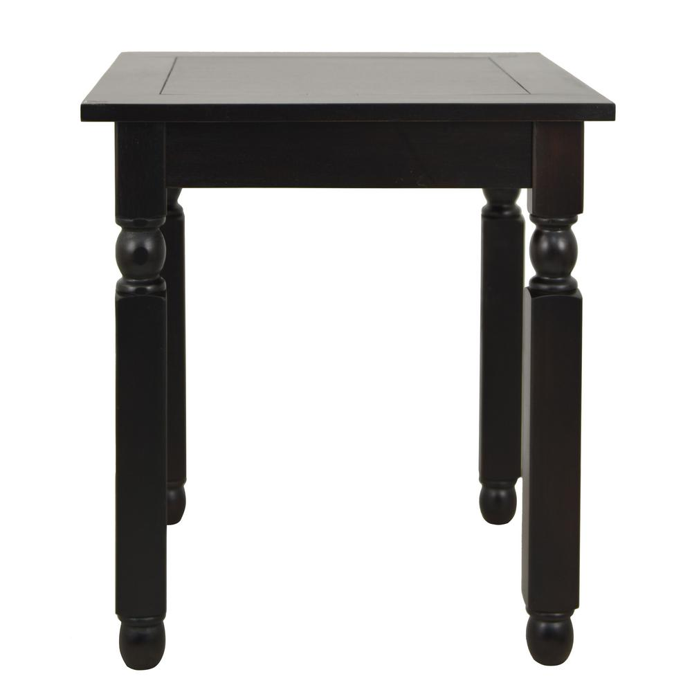 Decor therapy traditions espresso end table fr6308 the for Decor therapy