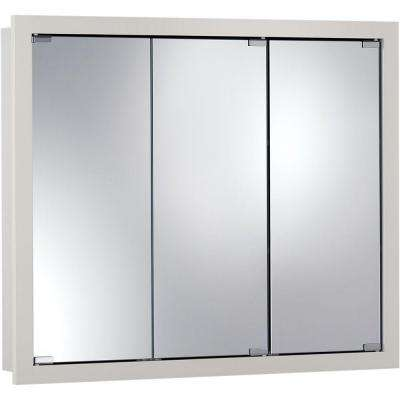 Granville 36 in. x 30 in. x 4.75 in. Surface-Mount Medicine Cabinet in Classic White