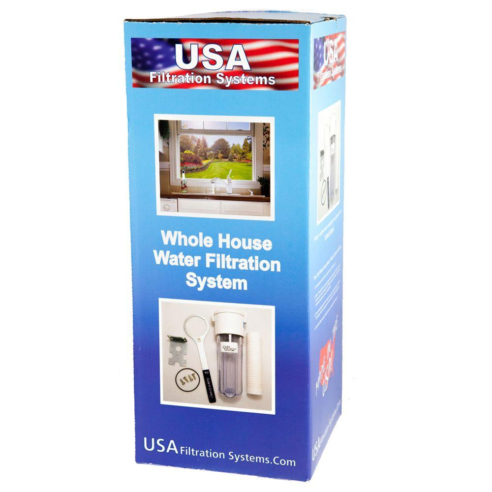 USA Water Softener Filters Whole House Water Filtration System