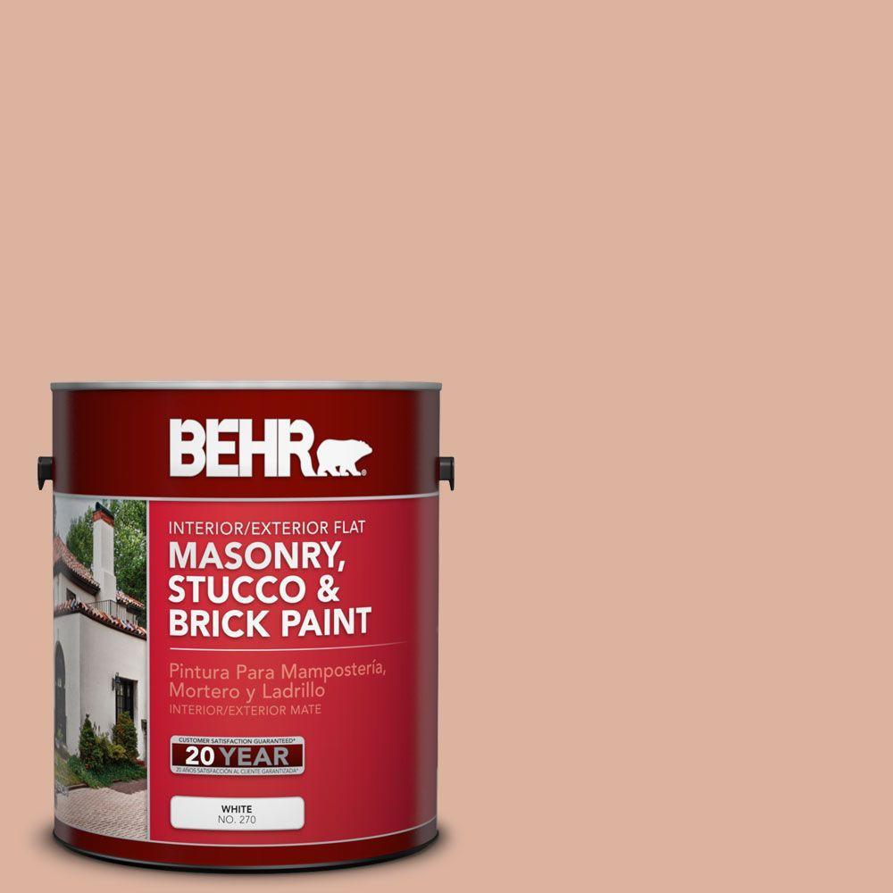 BEHR Premium 1 Gal. #MS-02 Rosestone Flat Interior