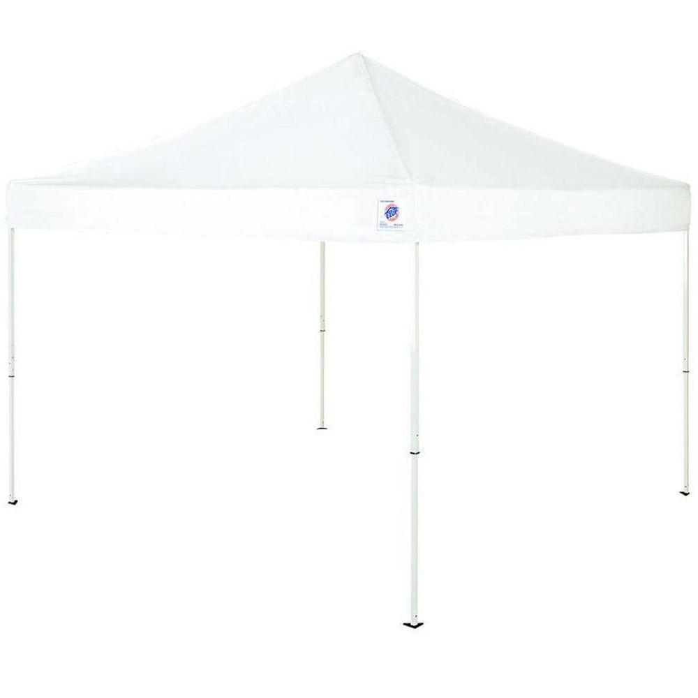 E-Z UP Envoy 10 ft. x 10 ft. White Instant Shelter Canopy