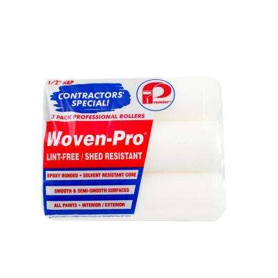 9 in. x 1/2 in. 3Pcs. Woven Polyester Roller Covers (20-Pack)