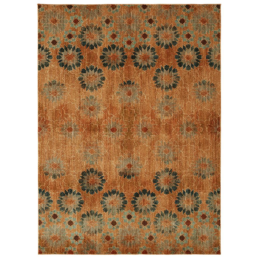 Mohawk In Bloom Saffron By Patina Vie 8 Ft X 10 Ft Area