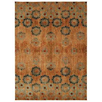 In Bloom Saffron by Patina Vie 8 ft. x 10 ft. Area Rug