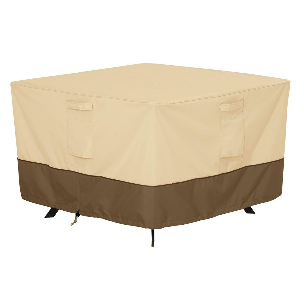 Clic Accessories Veranda Large Square Patio Table Cover