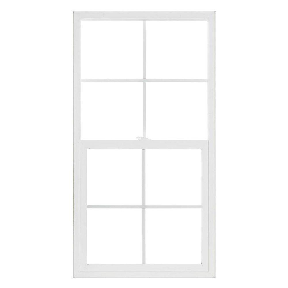 23.5 in. x 47.5 in. Premium Atlantic Single Hung Vinyl Window