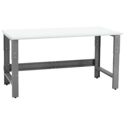 Roosevelt Series 2 ft. D x 6 ft. W LisStat Static Control Laminate 1,200 lbs. Capacity Workbench