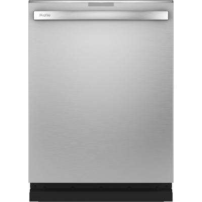Profile Smart Top Control Tall Tub Dishwasher in Stainless Steel with Stainless Steel Tub and Steam Cleaning,  39 dBA