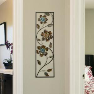 Stratton Home Decor Metal Winding Flowers Wall Decor by Stratton Home Decor