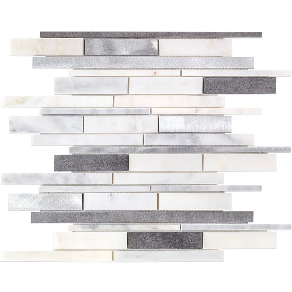 Ivy Hill Tile Urban Denim 12 in. x 12 in. x 8 mm Metal Wall Tile