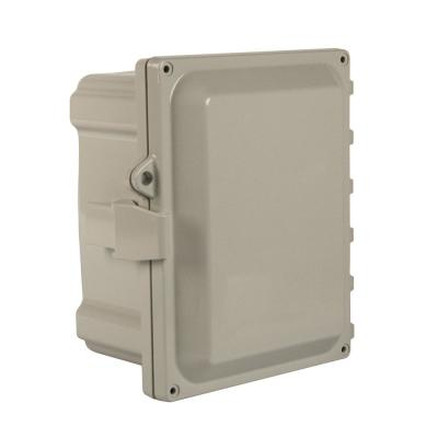 NEMA 4X 18 in. x 16 in. 10 in. Polycarbonate Hinged Cover with Quick Release Latch Wall-Mount