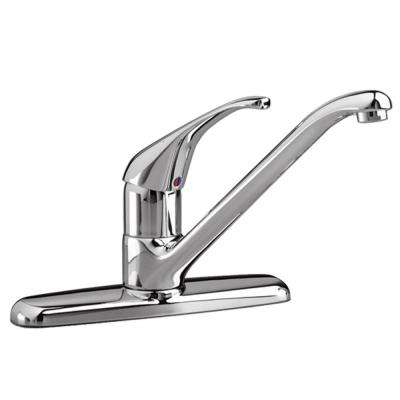 Reliant Single-Handle Standard Kitchen Faucet in Polished Chrome