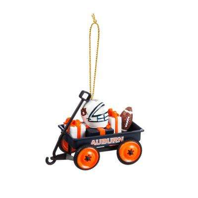 Auburn University 1-3/4 in. NCAA Team Wagon Christmas Ornament