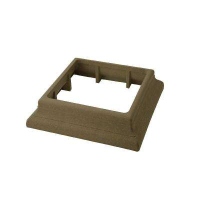 Vantage 5-1/2 in. x 5-1/2 in. Earthtone Composite Beveled Post Trim Collar