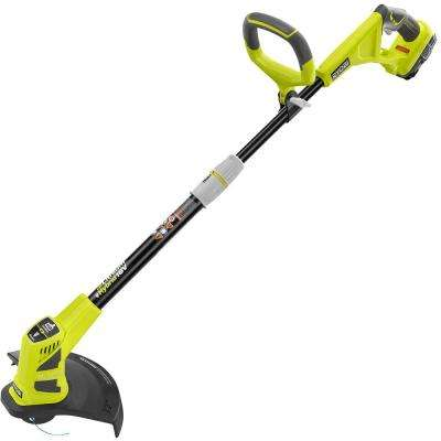 Reconditioned ONE+ 18-Volt Lithium-Ion Hybrid Electric Cordless Straight Cordless or Corded String Trimmer