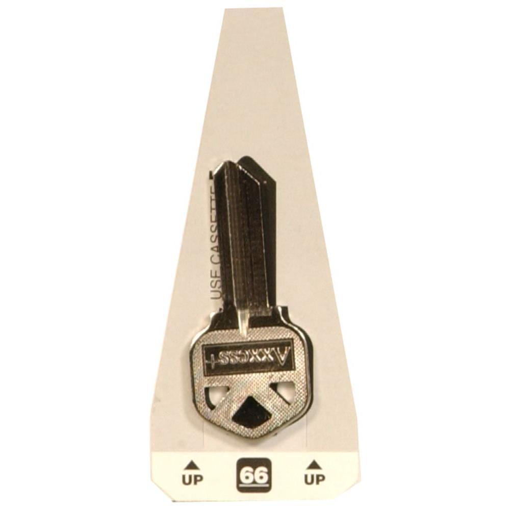 #66 Blank Kwikset Lock Key