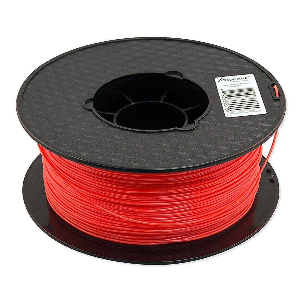 Aspectek 3D Printer Premium Red PLA Filament-HZ113111