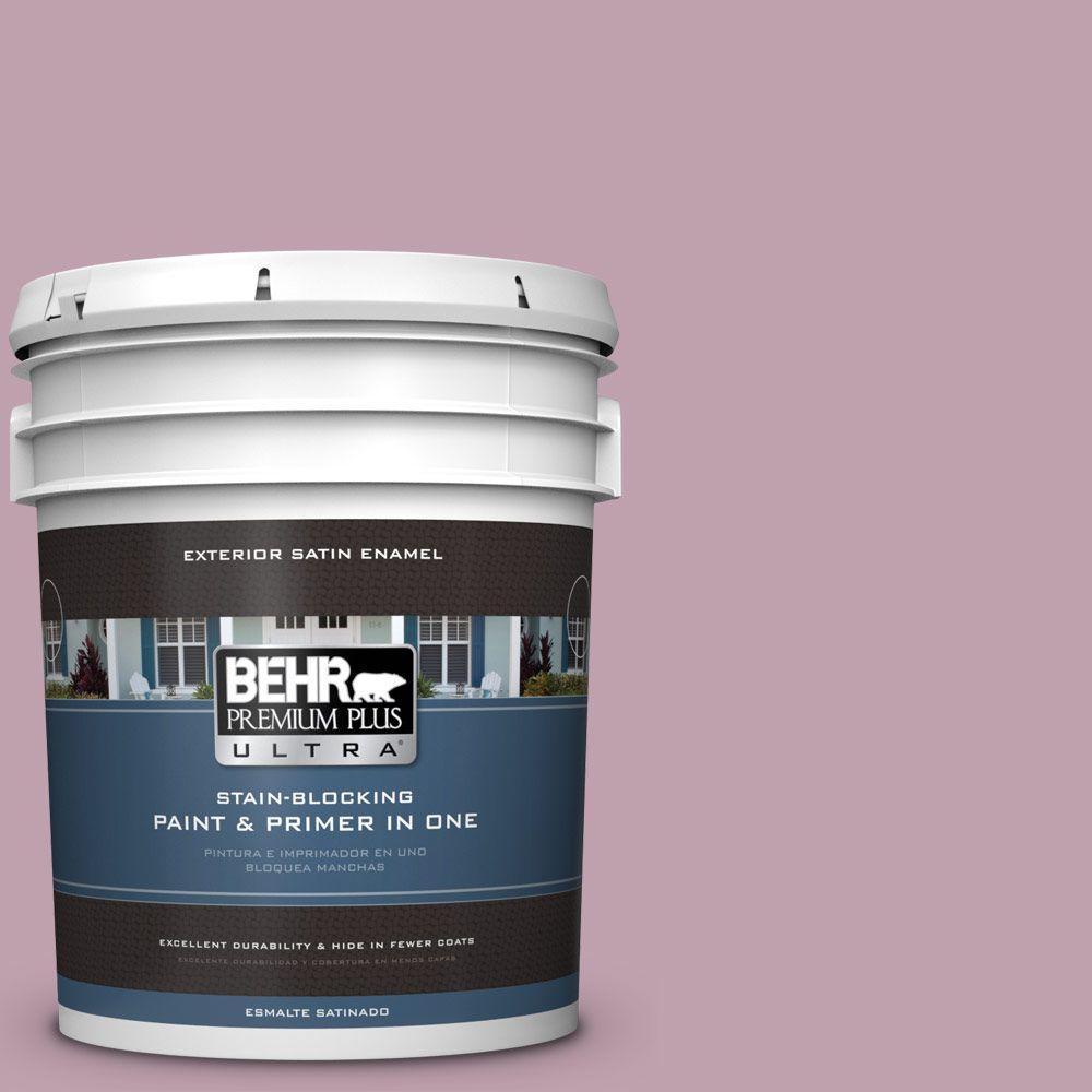 BEHR Premium Plus Ultra 5-gal. #S120-4 Decanting Satin Enamel Exterior Paint