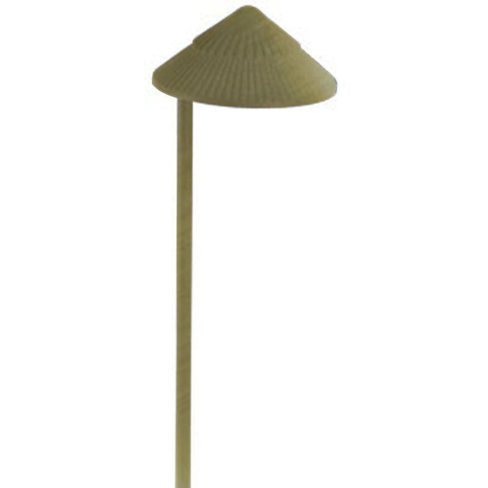 Filament Design Centennial 1-Light Outdoor LED Brass Path Light