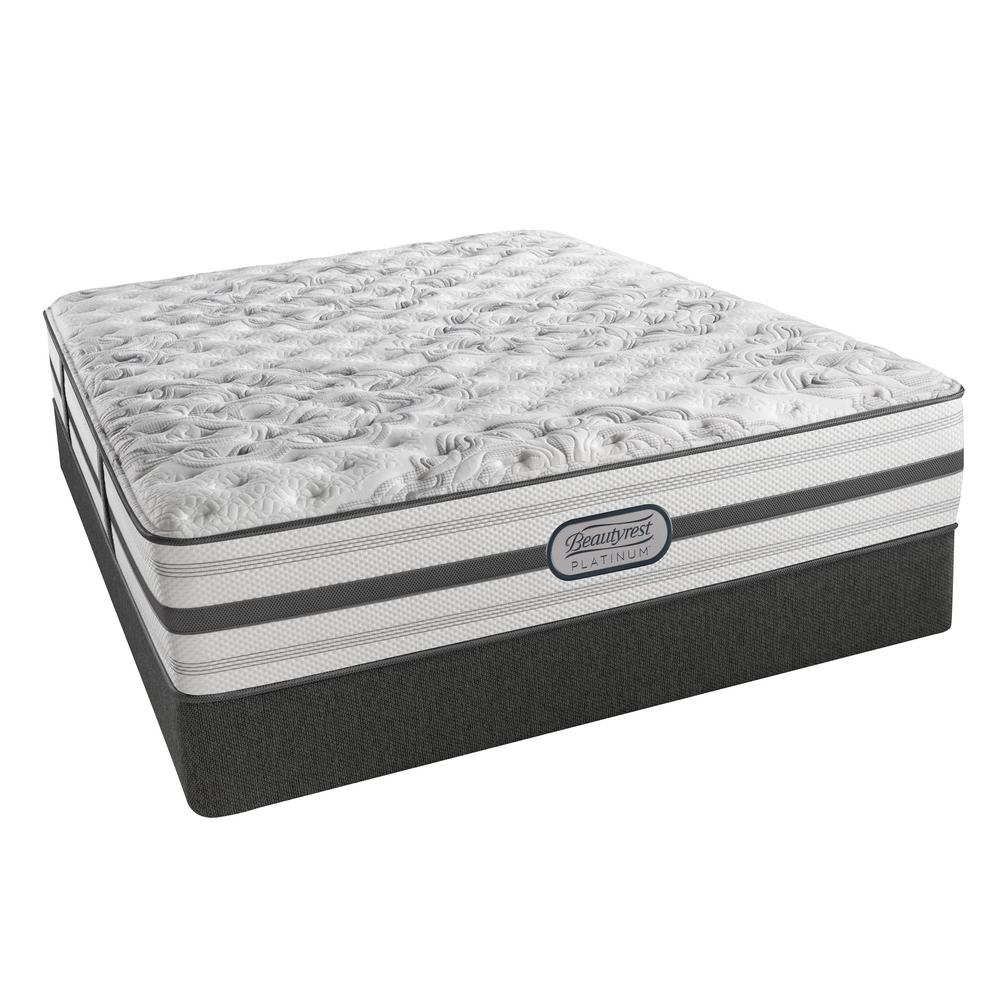 Beautyrest Rivers Edge California King Size Extra Firm Low Profile Mattress Set 700753248 9870