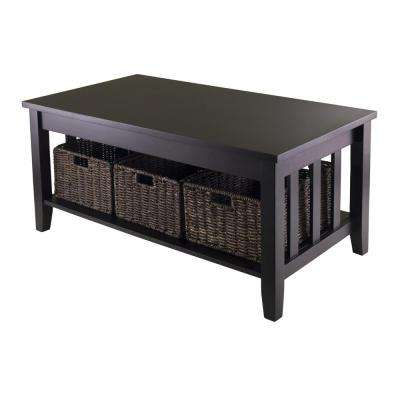 Morris Espresso Coffee Table