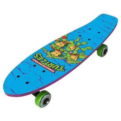21 in. Teenage Mutant Ninja Turtles on the Go Kids Complete Skateboard