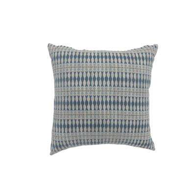 Maila 18 in. Contemporary Standard Throw Pillow in Blue