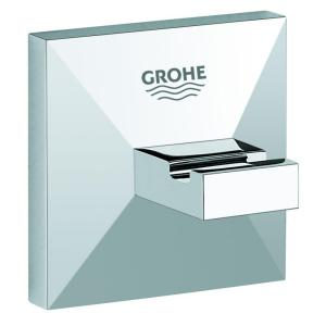 GROHE Allure Brilliant Single Robe Hook in StarLight Chrome by GROHE