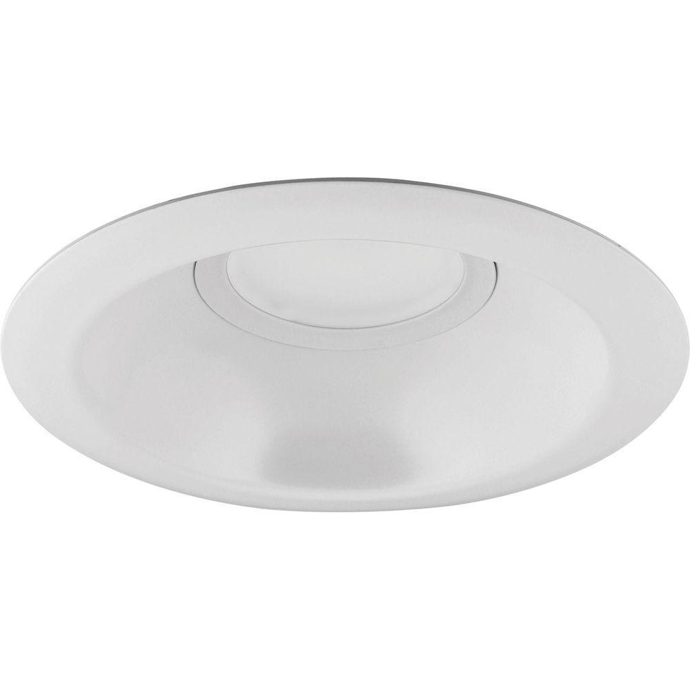 6 in. White LED Recessed Trim