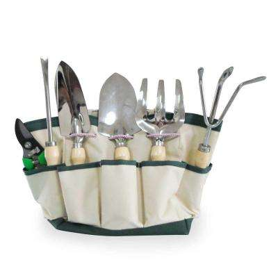 GardenHOME Garden Tool and Tote Set (6-Piece)