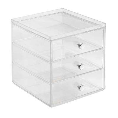 Clarity 3-Drawer Coffee Pod Organizer in Clear