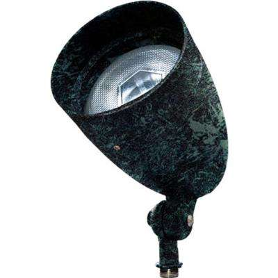 Skive 1-Light Verde Green Outdoor Directional Spot Light