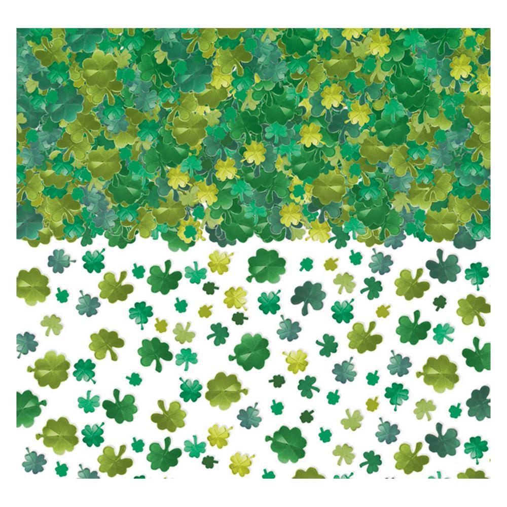 St. Patrick's Day Foil Shamrock Confetti (2-Pack)
