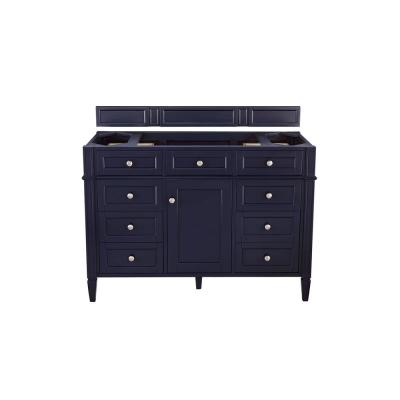 Brittany 48 in. W x 33 in. H Single Bath Vanity Cabinet Only (Top not Included) in Victory Blue