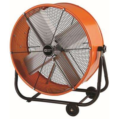 24 in. Heavy Duty 2-Speed Direct Drive Tilt Fan