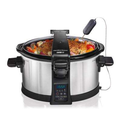 Set & Forget Programmable 6 Qt. Slow Cooker