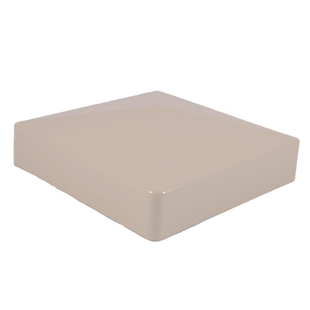 Weatherables in khaki vinyl external pyramid