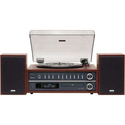 Turntable Audio System with Bluetooth