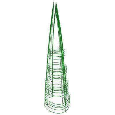 54 in. Heavy-Duty Green Tomato Cage (5-Pack)