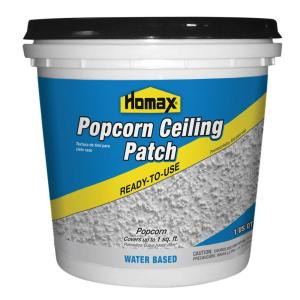 Homax 1 Qt Premixed Popcorn Patch 85424 The Home Depot
