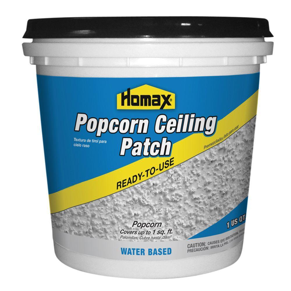 Homax 1 Qt Premixed Popcorn Patch