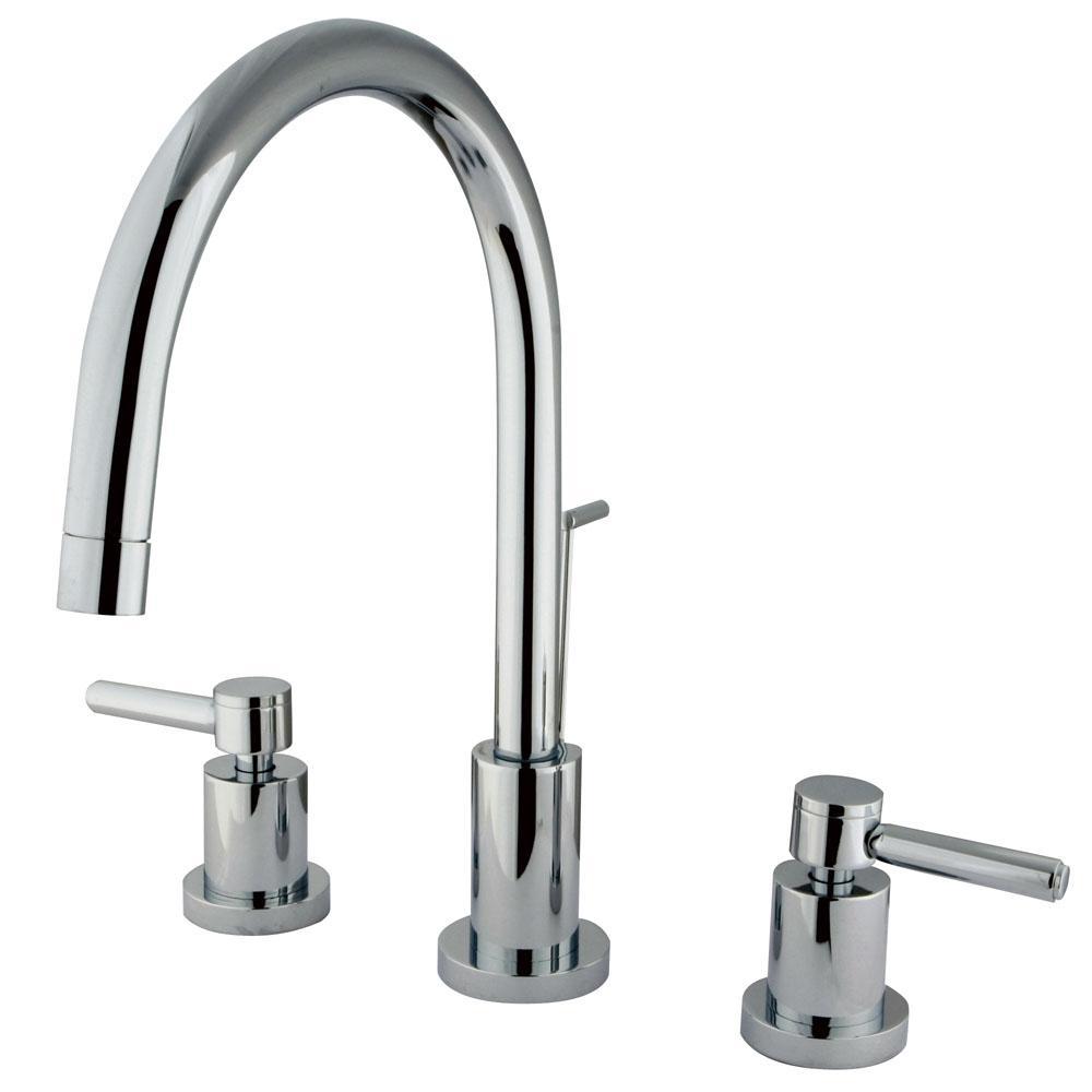 Kingston Bathroom Chrome Faucet