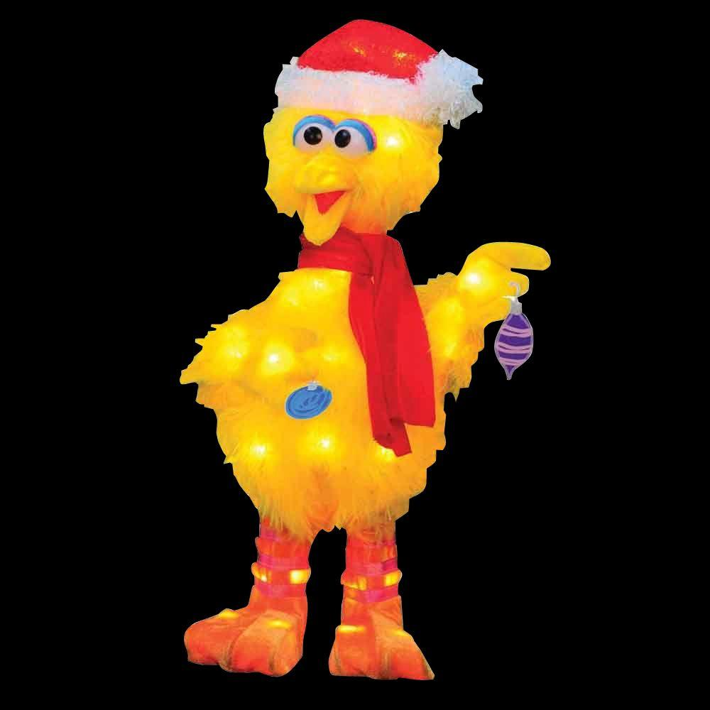 Sesame Street 18 In. LED Big Bird With Scarf-90107_MP1