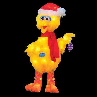 18 in. LED Big Bird with Scarf