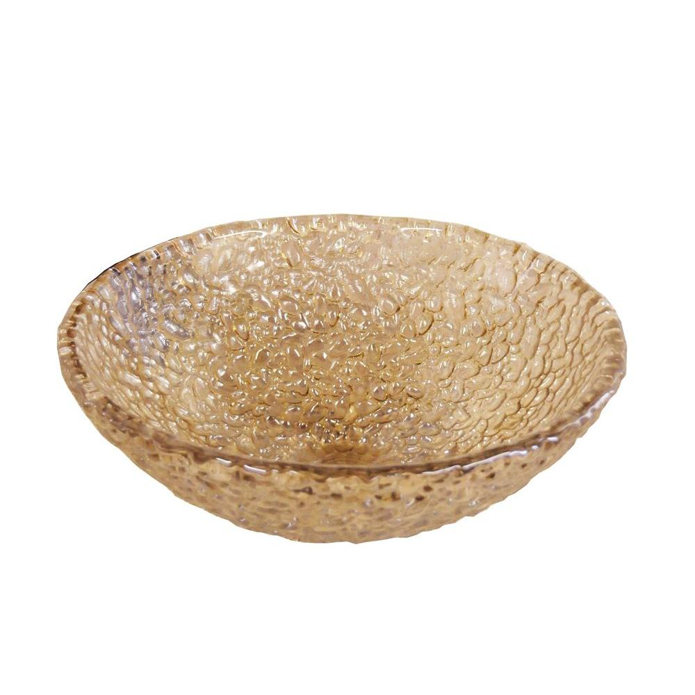 peachy vessel sink pictures.  JSG Oceana Pebble Vessel Sink in Fawn 005 303 120 The Home Depot