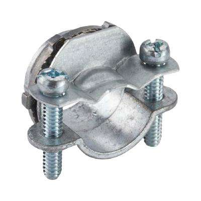 3/8 in. Non-Metallic Twin Screw Clamp Connectors (100-Pack)