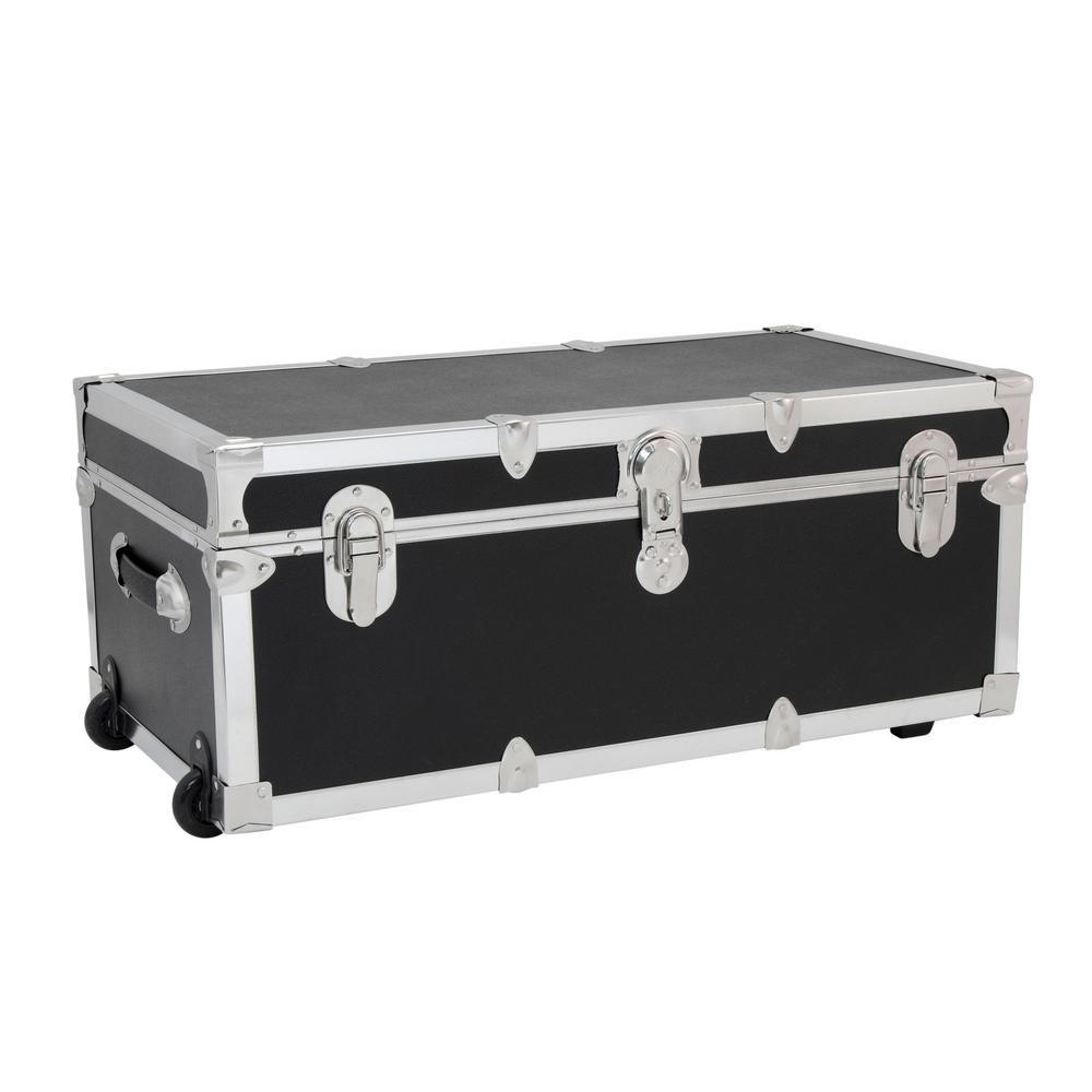 Modern Collection Black Storage Trunk