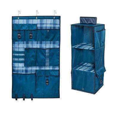 15 lb. Over-the-Door Hanging Organizer and 10 lb. Closet Hanging Storage